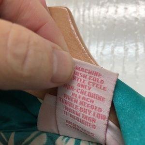 Serenanda Intimates   Sleepwear - Serenada Women Robe Brown w Turq. Size 1X  Plus 0a2d12ae7